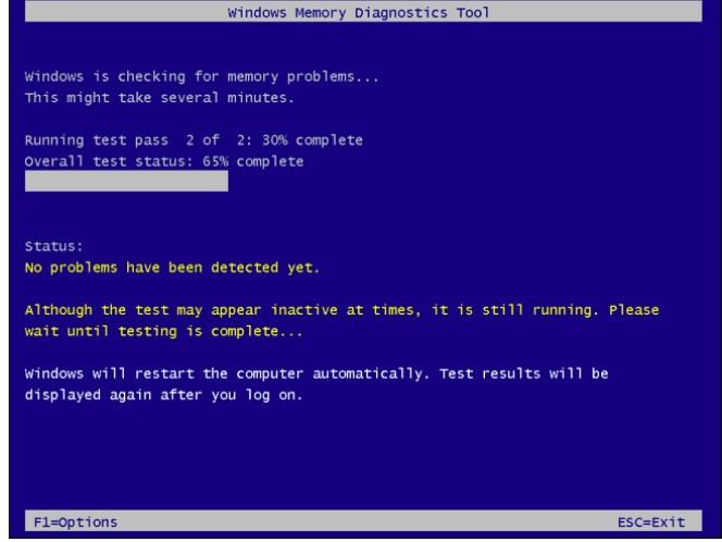 windows memory diagnostic tool 4
