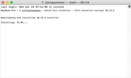 Download Full Version of macOS Installer
