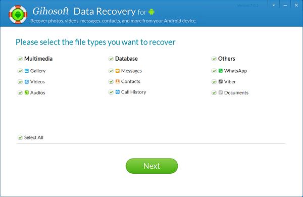 Gihosoft Data Recovery