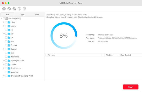 M3 Data Recovey for Mac