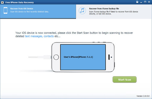 Thundershare iPhone Data Recovery
