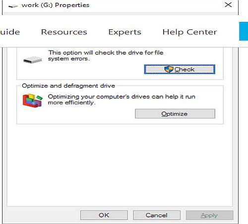 Run Windows Repair Tool