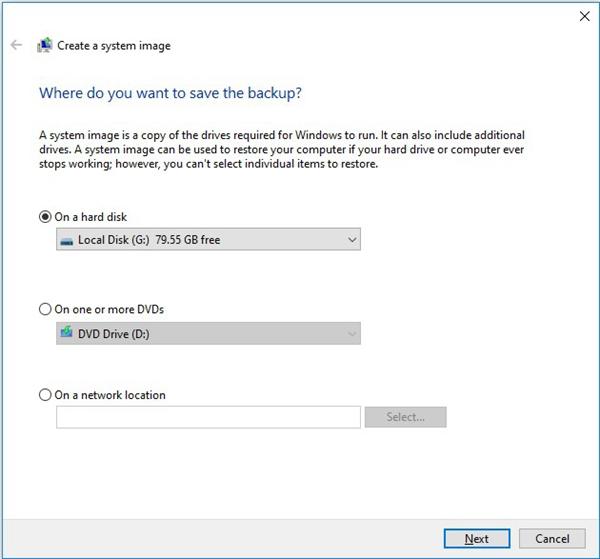 create windows system image with windows sanp it tool
