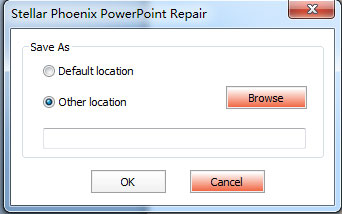 repair a damaged PowerPoint file step 5