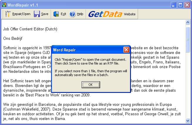 repair my word file