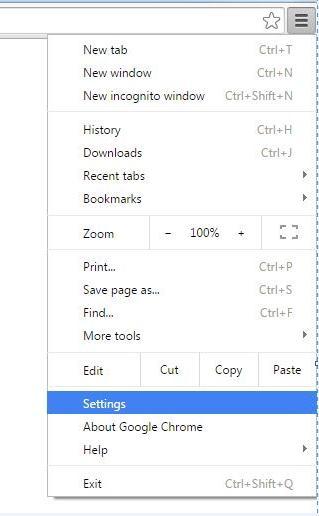 excluir o navegador google chrome