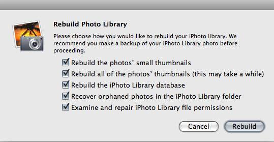 recuperar a biblioteca do iphoto da lixeira