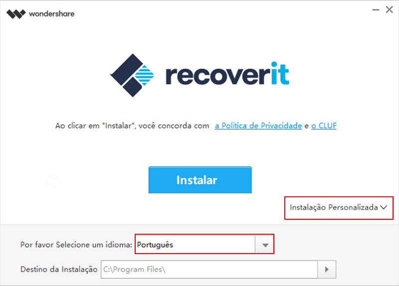 recoverit-install