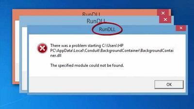 O que é o Rundll e Como Reparar o Erro do Rundll ao Iniciar