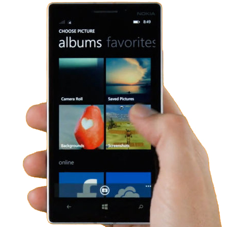 como recuperar fotos excluidas do windows Phone 7 e windows phone 8