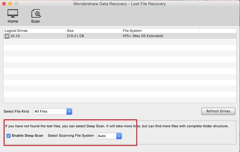 recover files from cruzer usb