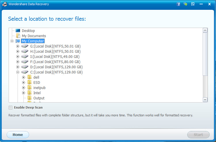 Come recuperare file persi con Wondershare PC Recupero File