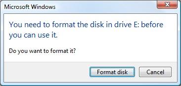 disque dur RAW