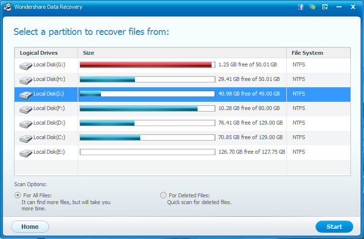 recover files from raw usb drive step 2