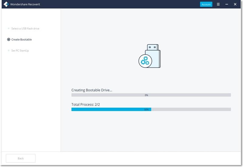 Create a bootable drive
