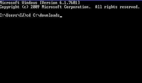 Zum SDelete-Tool navigieren, um Dateien dauerhaft zu löschen