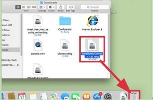 Heruntergeladene Dateien auf dem Mac in den Papierkorb verschieben