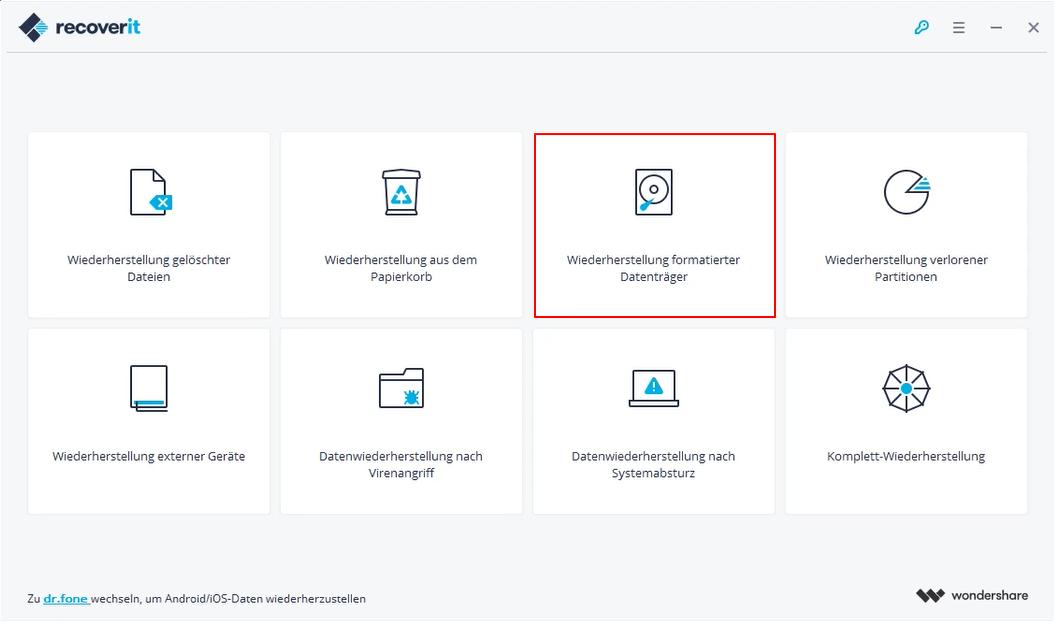 formatierte SD-Karte auf dem mac wiederherstellen