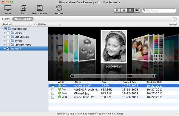 Software Gratuito de Recuperación de Datos Apple para MAC OS X