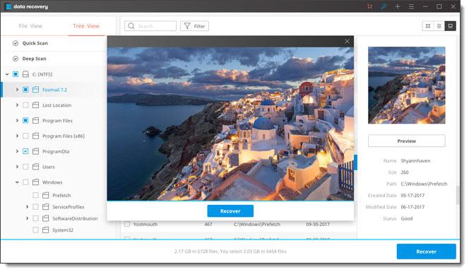 logiciel de récupération de photos Olympus
