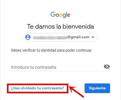 Olvidó su contraseña de Gmail: Obténgala de vuelta ahora