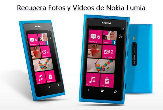 Cómo Recuperar Fotos y Vídeos Borrados desde Nokia Lumia