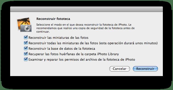Cómo Recuperar Fotos Borradas o Perdidas de iPhoto de Mac