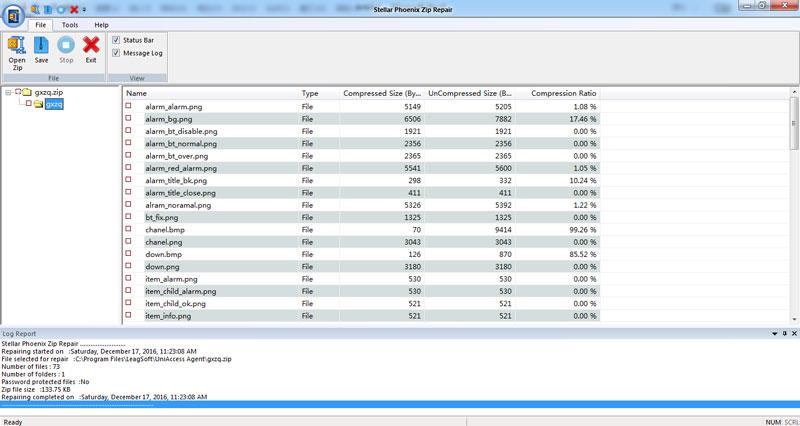 Durch Viren beschädigte ZIP-Datei reparieren Schritt 3