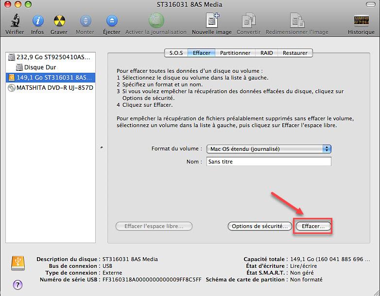 Comment réinitialiser MacBook Pro/Macbook Air aux paramètres d'usine