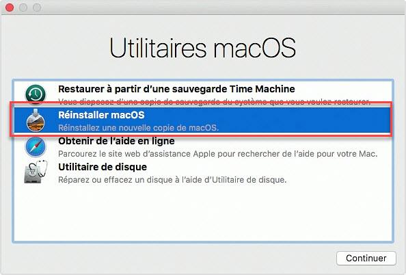 Comment réinitialiser Mac aux paramètres d'usine
