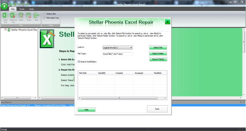 réparer fichier Excel corrompu étape 1
