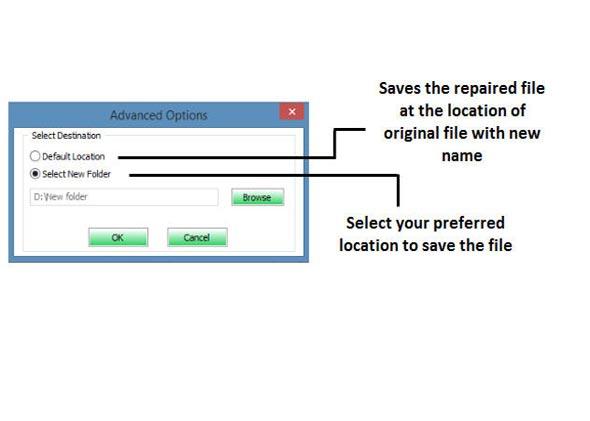 réparer fichier Excel corrompu étape 4