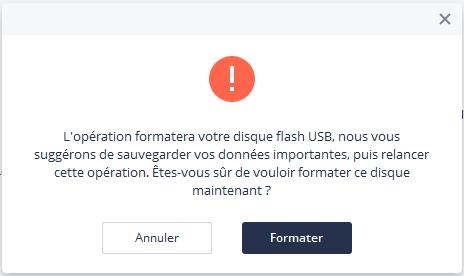 formater un lecteur USB