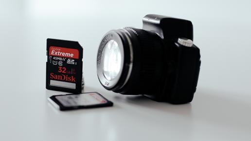 Récupérer les photos supprimées de la carte SD.