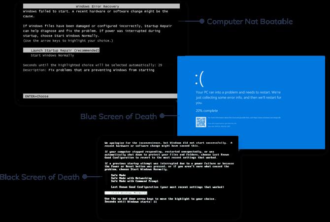 computer crash issues