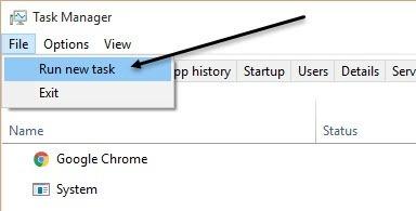 come risolvere errore sparito barra delle applicazioni in windows 10