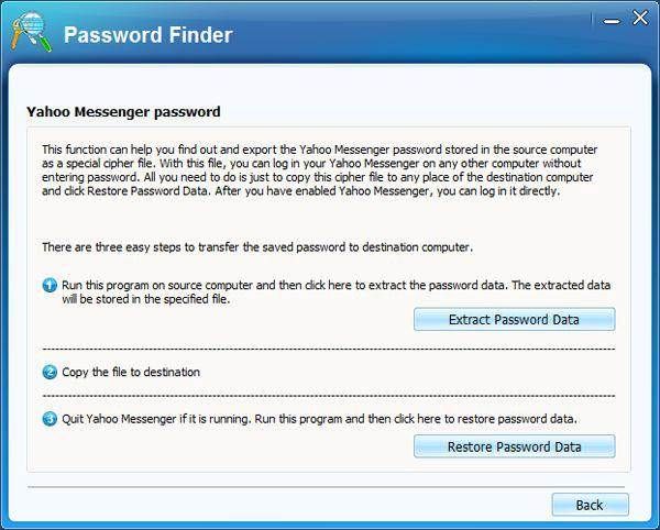 riavere la password yahoo mail con un cracker yahoo mail
