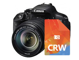 recover deleted CRW files from Camera