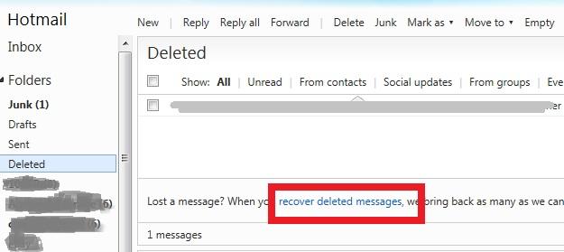 recuperar-mensajes-eliminados-de-hotmail