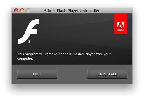 run-uninstaller-flash-mac