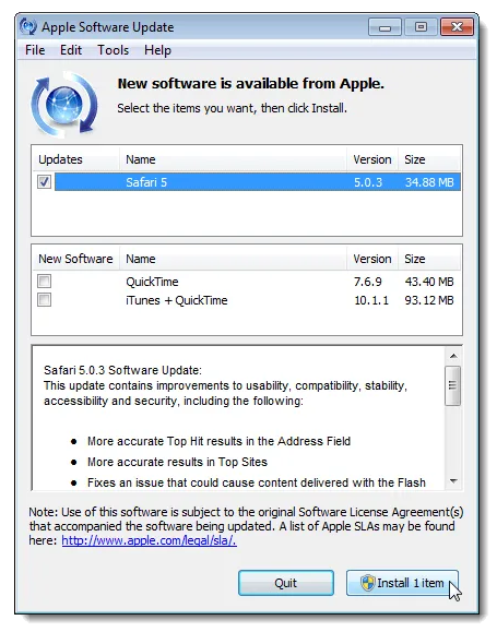 update-safari-browser-for-windows-3