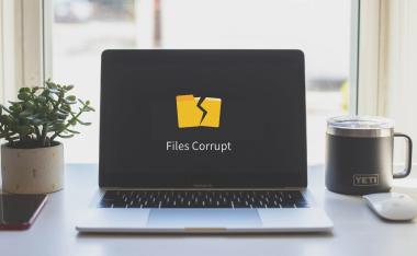 ファイルの破損