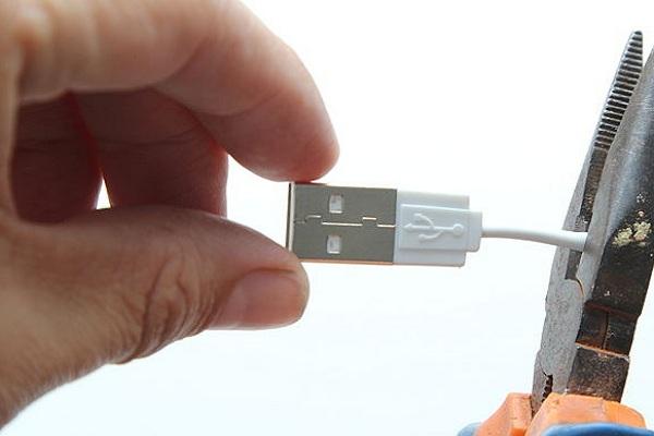 Reparación de USB