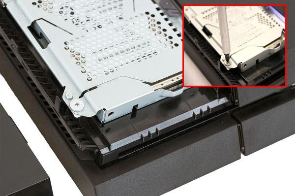 conseils de remplacement du disque dur ps4