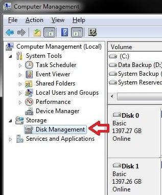 Étape 4 Partition de démarrage dans Windows