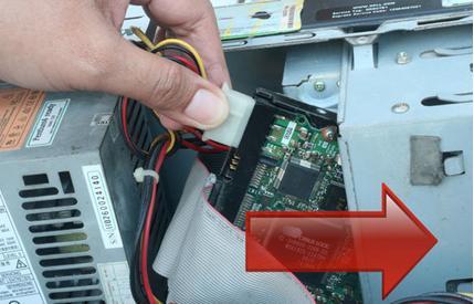 réparer une défaillance du disque dur étape 6