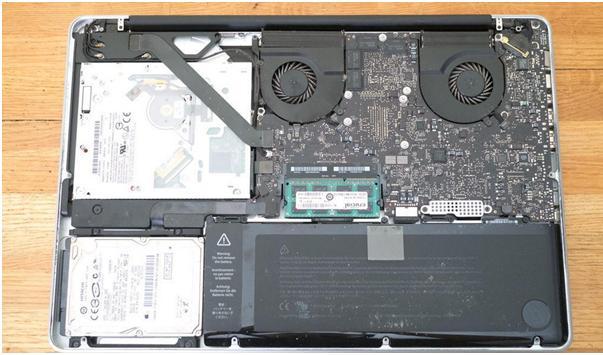 replace hard drive on windows Laptop step 4