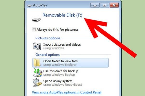 Créer une partition de récupération sur Windows - étape 1
