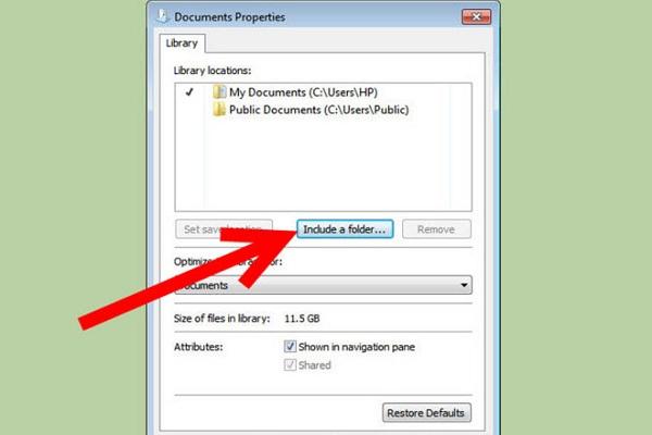 Créer une partition de récupération sur Windows - étape 2