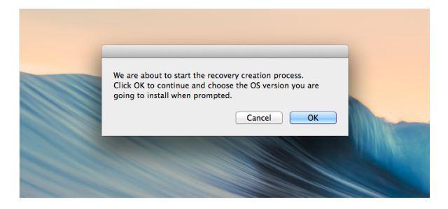 Créer une partition de récupération sur Mac - étape 4